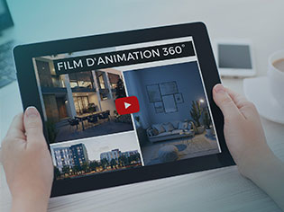Film d'animation 360°